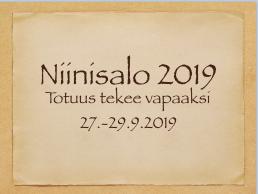 Niinisalo 2019